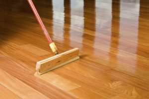 Sealing the floors