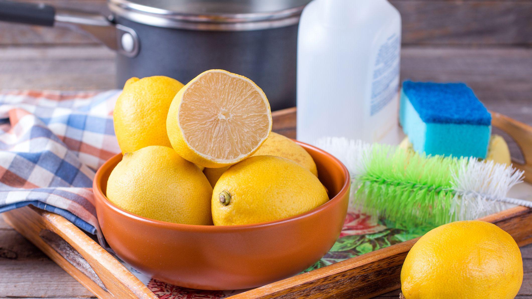 Microwave lemon cleansing